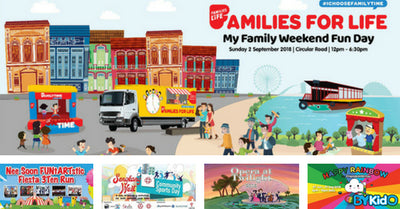 5 Things to do and Places to go with Kids this weekend in Singapore (20th - 26th Aug)