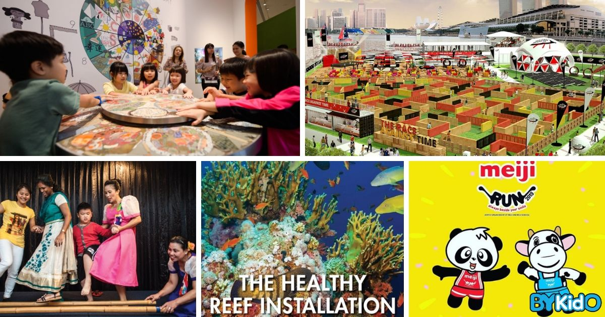 5 Things to do and Places to go with Kids this weekend in Singapore (20th - 26th May 2019)