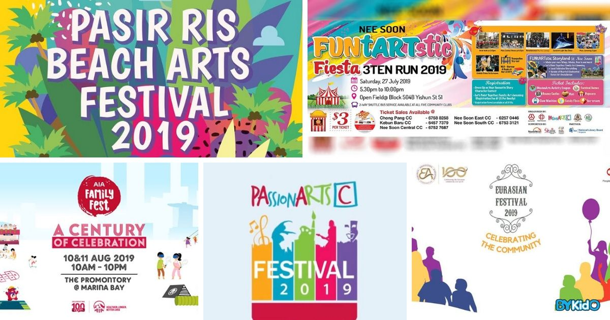 5 Things to do and Places to go with Kids this weekend in Singapore (22nd - 28th Jul 2019)