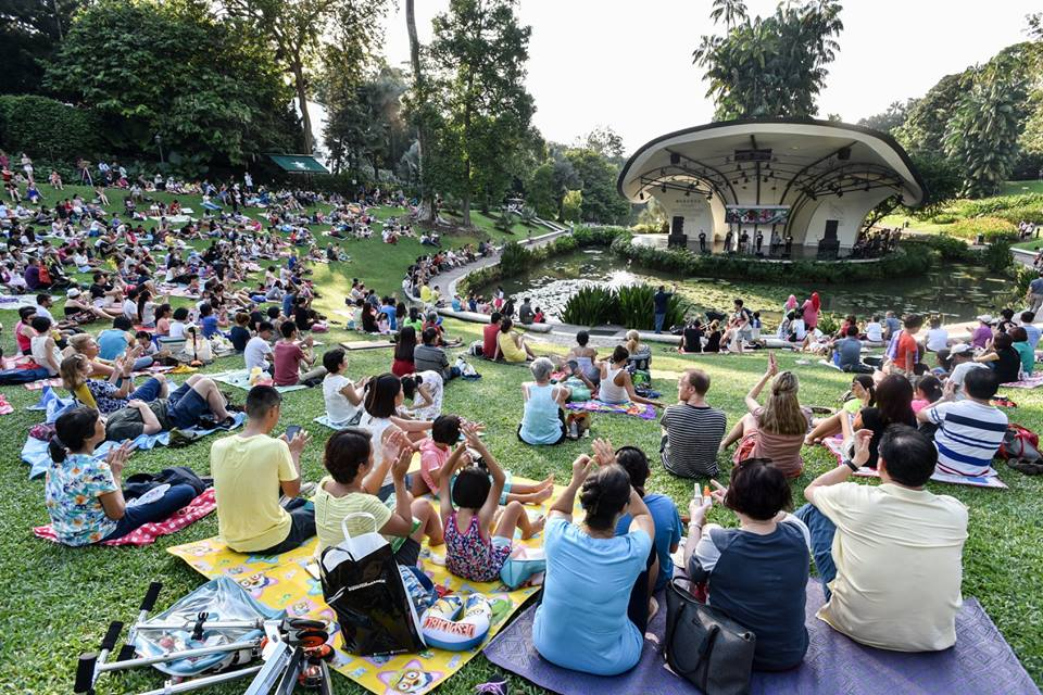 Things to do this Weekend: Join in the Band Fiesta with Your LOs @ Singapore Botanic Gardens!