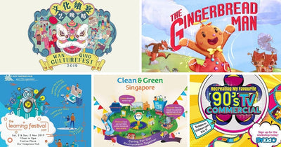 5 Things to do and Places to go with Kids this weekend in Singapore (28th Oct - 3 Nov 2019)
