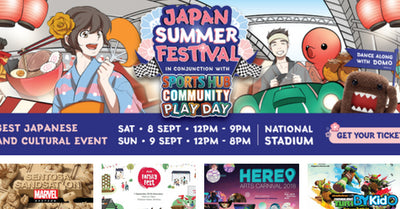5 Things to do and Places to go with Kids this weekend in Singapore (27th Aug - 2nd Sept)