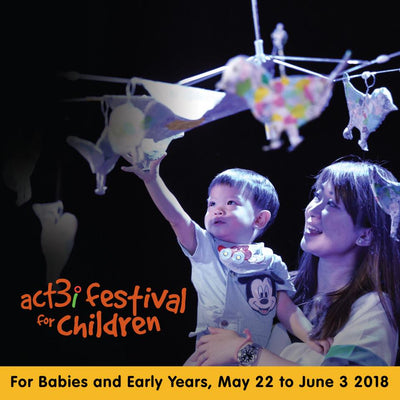 Things to do this Weekend: Experience ACT3i Festival for Children with Your Little Ones!