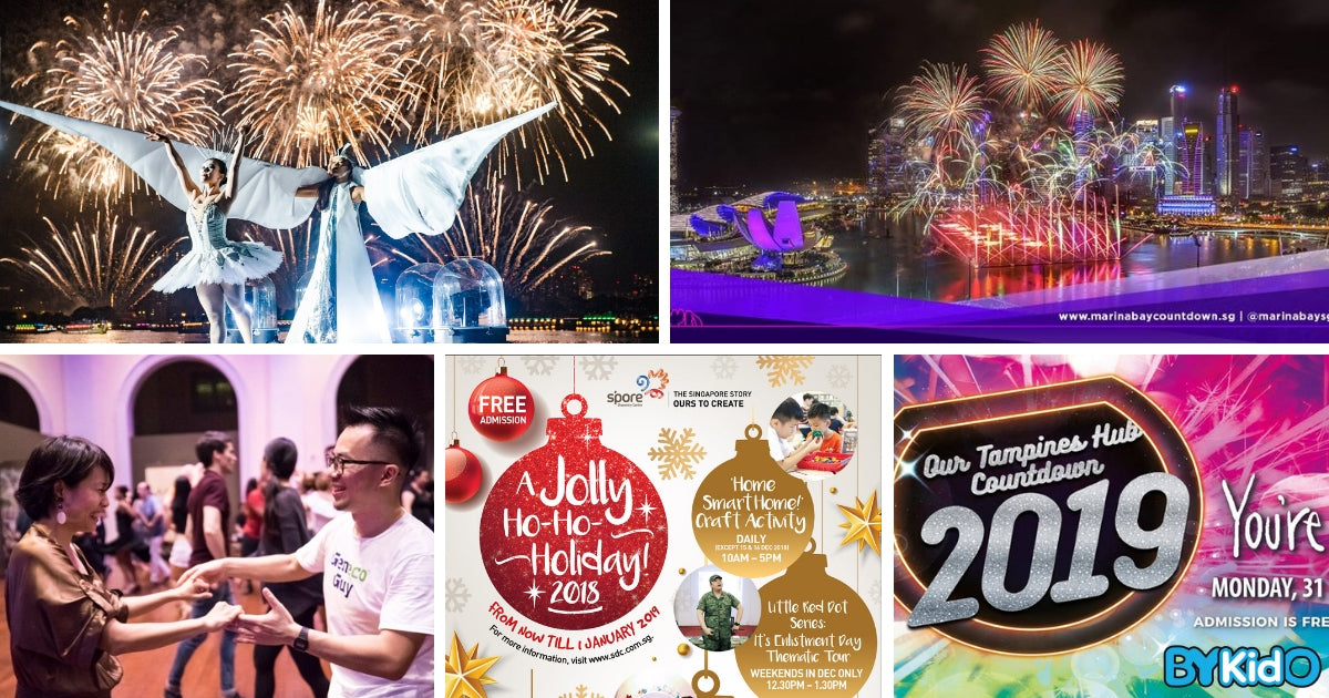 5 Things to do and Places to go with Kids this weekend in Singapore (24th Dec - 30th Dec 2018)