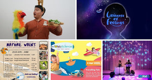 5 Things to do and Places to go with Kids this weekend in Singapore (30th Mar - 5th Apr 2020)