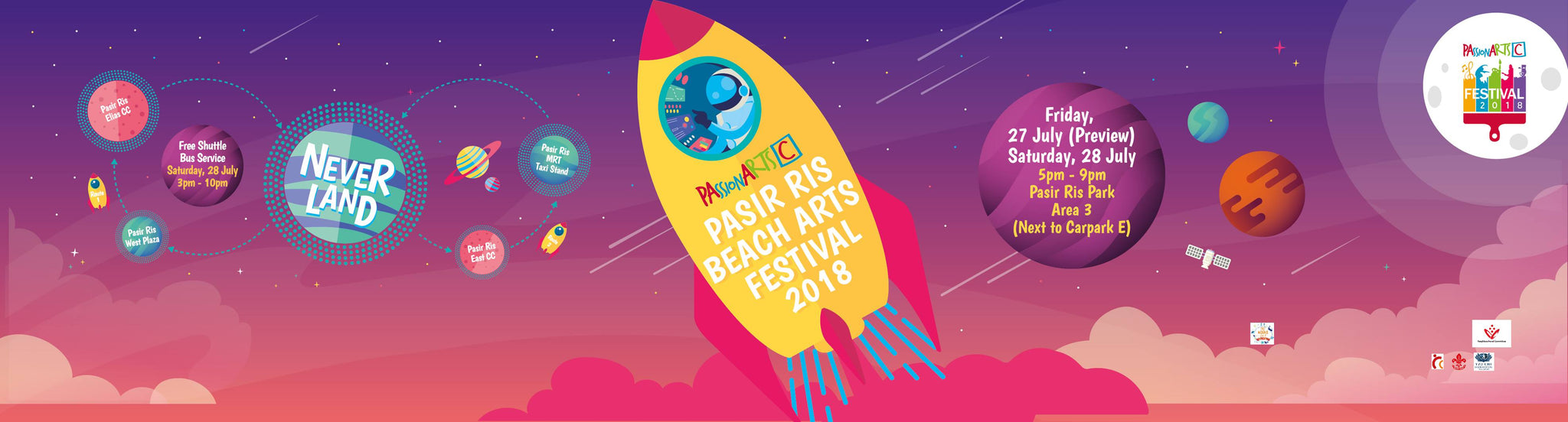 MUST GO: Pasir Ris Beach Arts Festival - Neverland