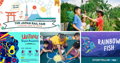 5 Things to do and Places to go with Kids this weekend in Singapore (2nd - 8th Nov 2020)