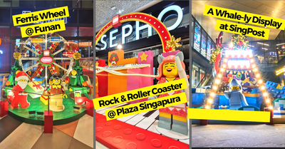Carnival-themed LEGO Installations Pops-up at 13 CapitaLand Malls Islandwide For The Largest LEGO Festival Carnival!