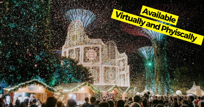 Gardens by the Bay Christmas Wonderland 2020 - What To Do Virtually and Physically!