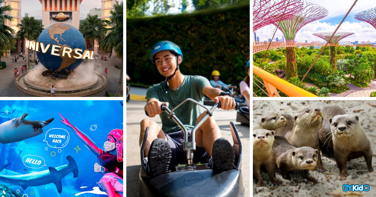 5 Reopened Family-friendly Attractions that You Can Visit