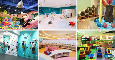 7 Indoor Playground to Bring Your Kids to in Taipei