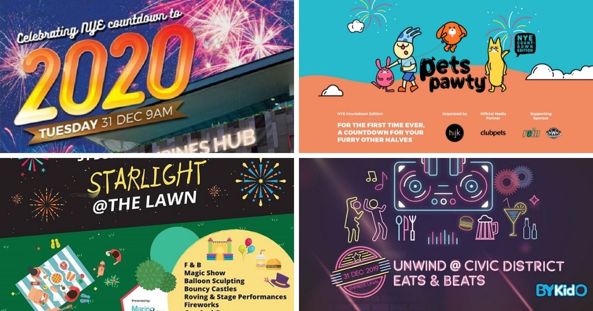 7 Kid-friendly New Year Countdown Events in Singapore