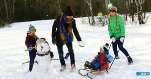 7 Tips to Keep Your Kids Warm on Your Winter Vacation