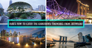 8 Places to Catch New Year's Fireworks Display for FREE