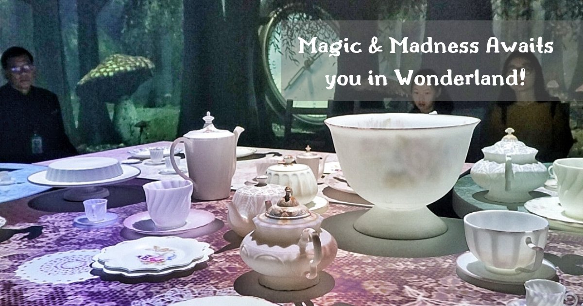 Alice in Wonderland: Fall Down the Rabbit Hole & Step Through the Looking Glass for a Quirky Adventure at Wonderland