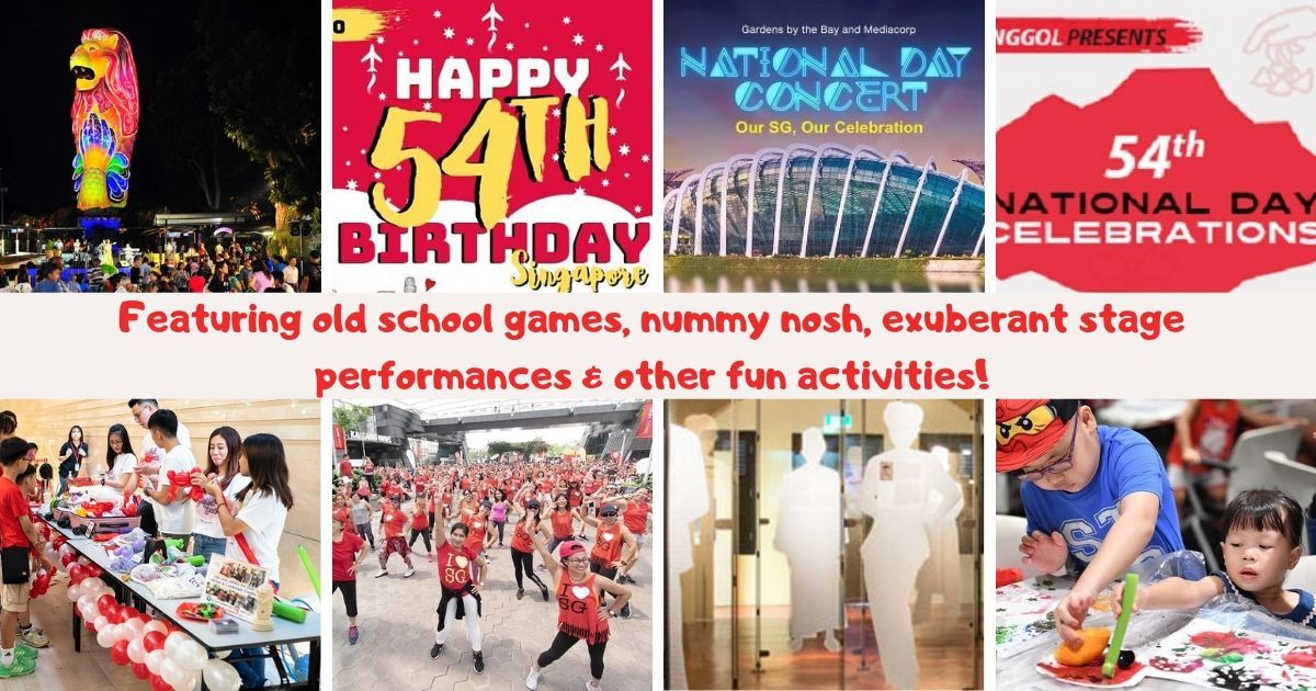 Alternate Places to Celebrate National Day at with Your Little Ones