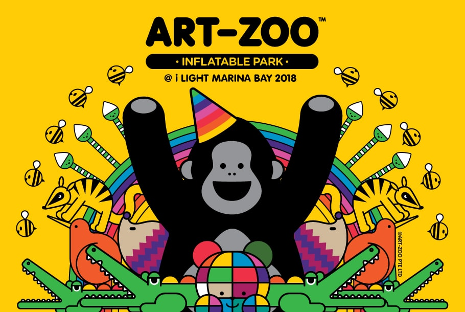 Things to do this Weekend: Bounce to Singapore's Largest Art Inflatable Park: Art-Zoo!