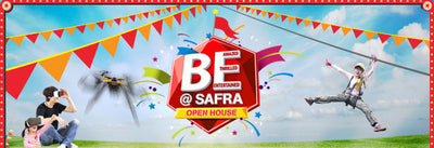 Places to go this Weekend: BE @ SAFRA Open House