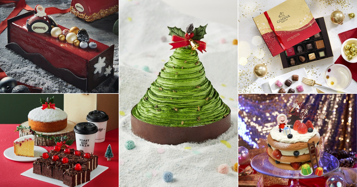 Best Places to Get Your Cakes & Sweet Treats from for Christmas 2020