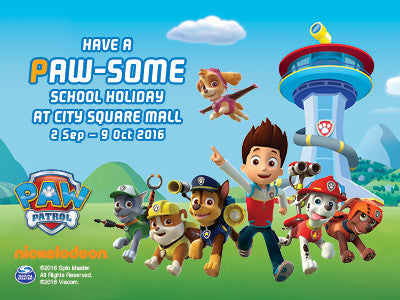 "Activities to do - Paw Patrol ""Live"" Show @ City Square Mall"