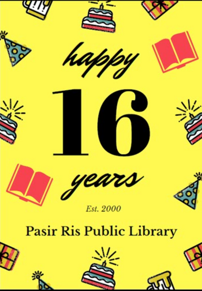 Places to go this Weekend - Pasir Ris Library Turns Sweet 16!