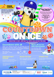Activities to do this Weekend: New Year Countdown on Ice