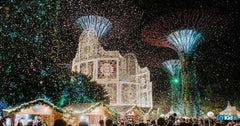 Christmas Wonderland at Gardens by the Bay | A Wintry Wonderland in Sunny Singapore