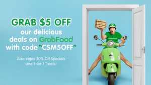 GrabFood $5 Promo Code + Other Special Offers For F&B Outlets At City Square Mall