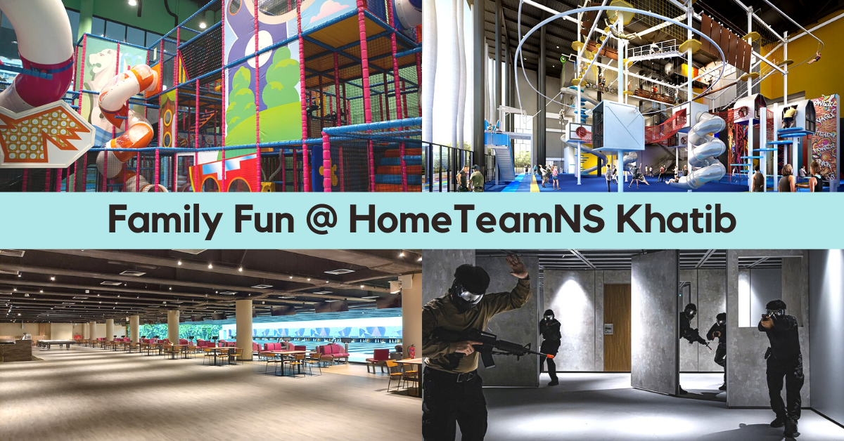Reasons To Be Excited About HomeTeamNS Khatib Opening in Aug 2020 | Bowling, T-Play Playground and more