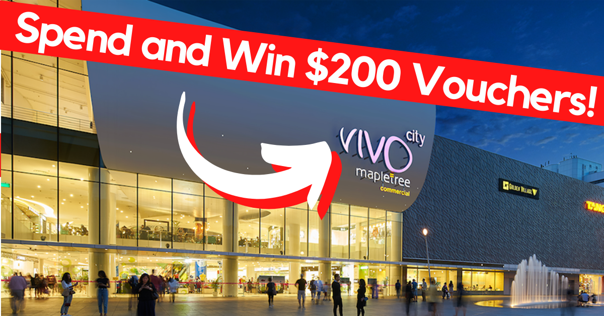 VivoCity (Singapore): Over 40,000 Retail and Restaurant Vouchers To Be Won!