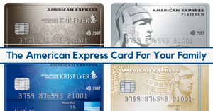 Why You Should Consider An American Express Credit Card For The Family!