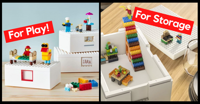 [UPDATED WITH LAUNCH DATE] LEGO And IKEA Brilliant Storage And Play Boxes | The BYGGLEK Collection