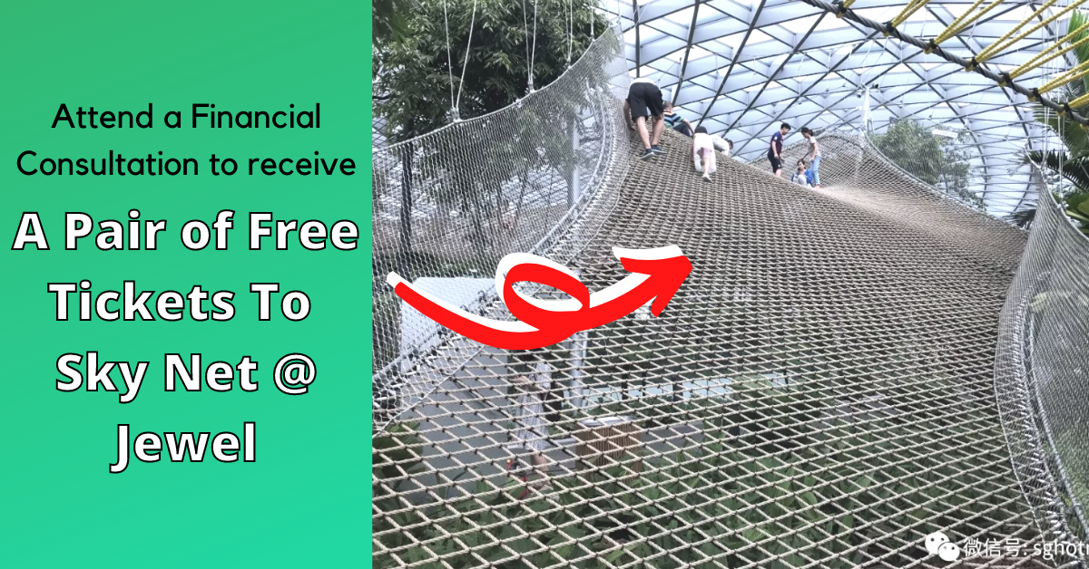 Get A Pair Of Free Tickets To Sky Nets At Jewel Changi Airport Today!