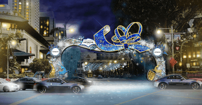 Orchard Road Christmas Light-up 2020 From 13 Nov 2020 to 1 Jan 2021