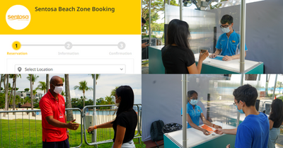How To Reserve Entry To Sentosa Beaches | A Step-by-Step Guide