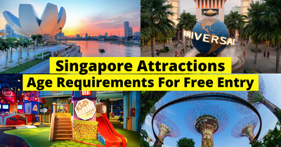 Complete List Of Age Requirements For Free Entry To Singapore Attractions