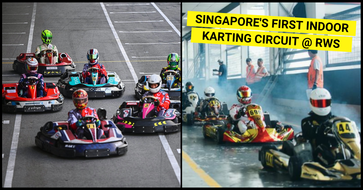 S'pore's first indoor karting circuit opens at Resorts World Sentosa, rates from S$28