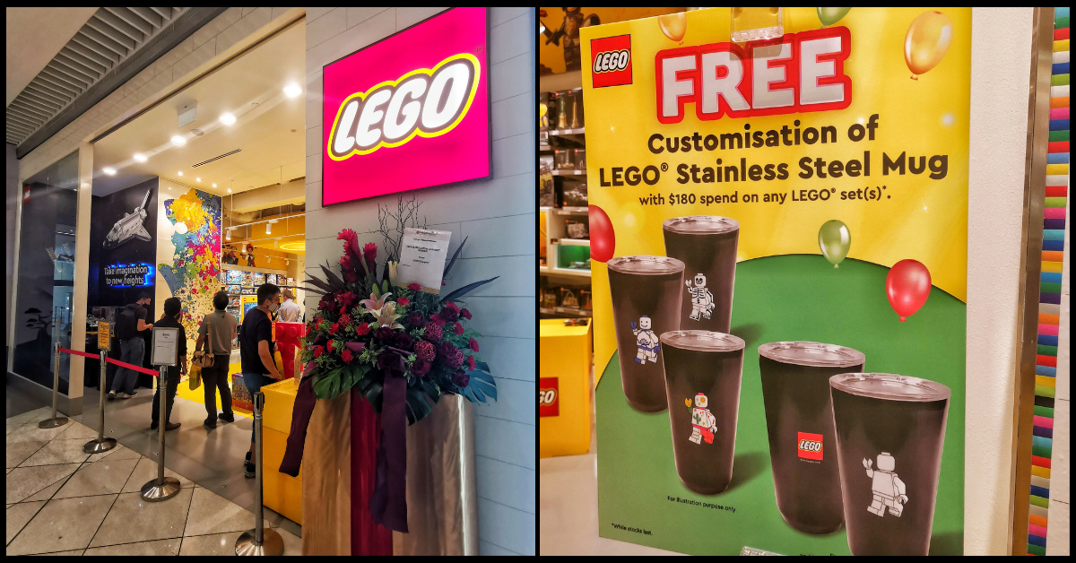 Singapore's Largest LEGO Certified Store To Open At Suntec City - Opening Promotions!
