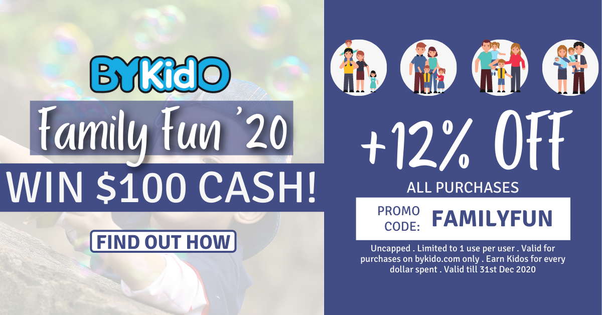 BYKIDO Family Fun 2020 - Create Family Fun, Win $100!