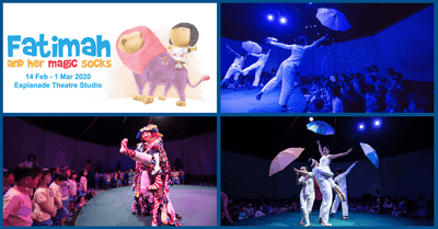 Dance, Laugh and Sing with Fatimah and Her Magic Socks | PLAYtime! @ Esplanade