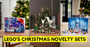 Experience the Magic of Christmas with LEGO Festive Sets + Giveaway!