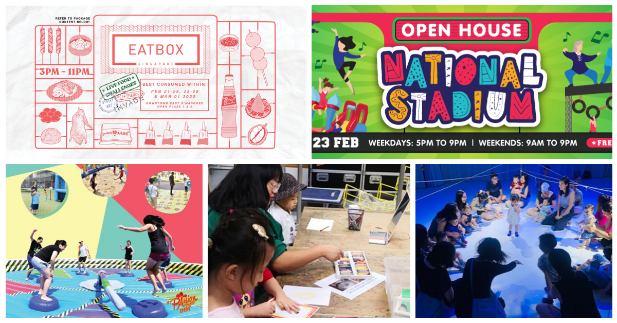 5 Things to do and Places to go with Kids this weekend in Singapore (17th - 23rd Feb 2020)