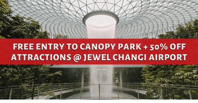 Free Entry to Canopy Park @ Jewel Changi Airport + 50% Off Attractions
