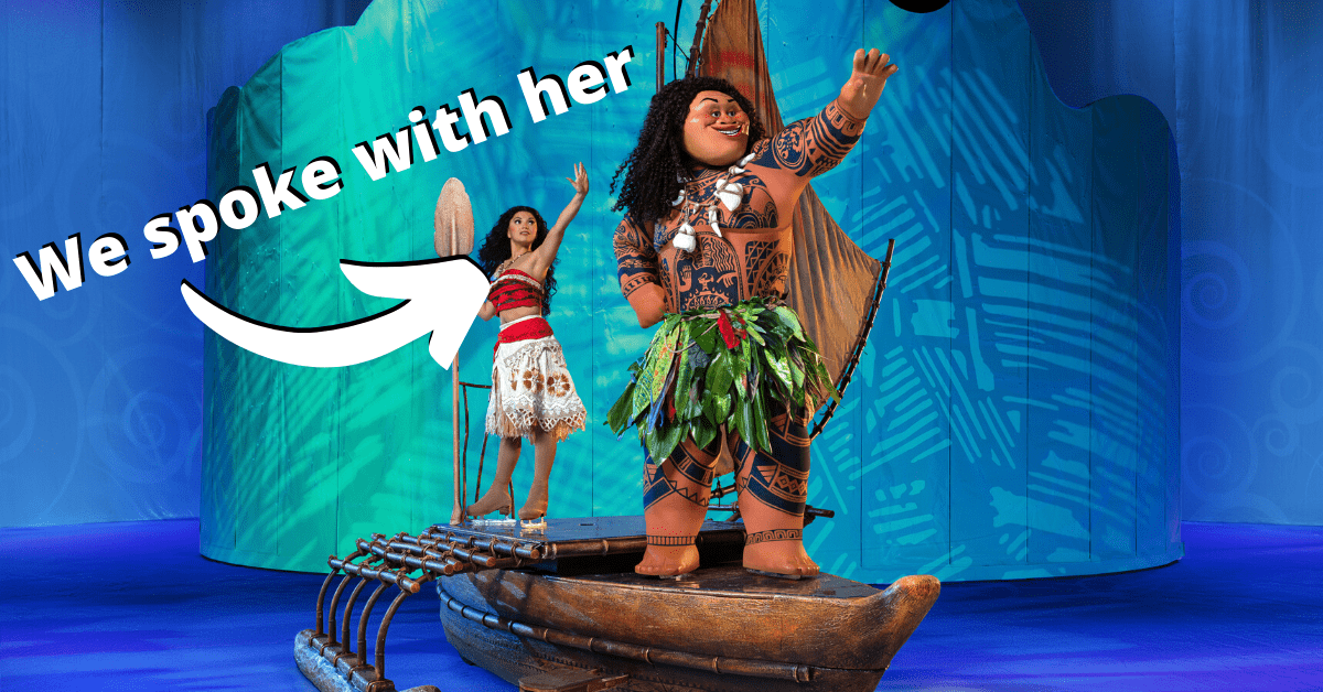 An Interview with Marie Hanford aka Moana on Disney On Ice presents Live Your Dreams