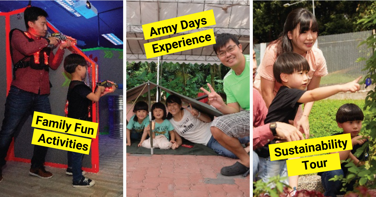Family Adventure Camping Experience at Singapore Discovery Centre | Pre-Registration For June!