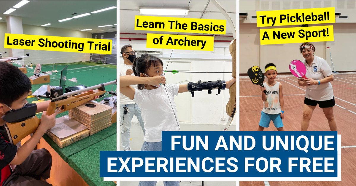 Sporty and Fun Activities At SAFRA Tampines' March Holiday Special!