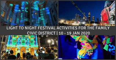 Light to Night Festival 2020 | Light Installations & Food Street for Families