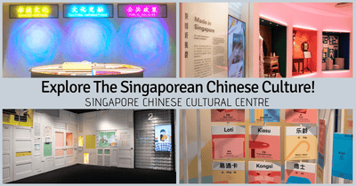 SINGAPO人: Discovering Chinese Singaporean Culture | Permanent Exhibition @ Singapore Chinese Cultural Centre