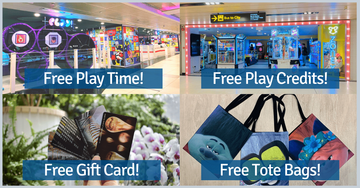 Best Deals @ Changi Airport For March School Holidays | Free Play Time, Play Credit, Parking and Gift Card!