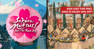 Sakura Matsuri: Kids Enter Free, Springtime Blooms & Cultural Performances at Gardens by the Bay!